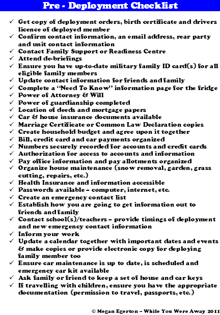 pre-deployment-checklist