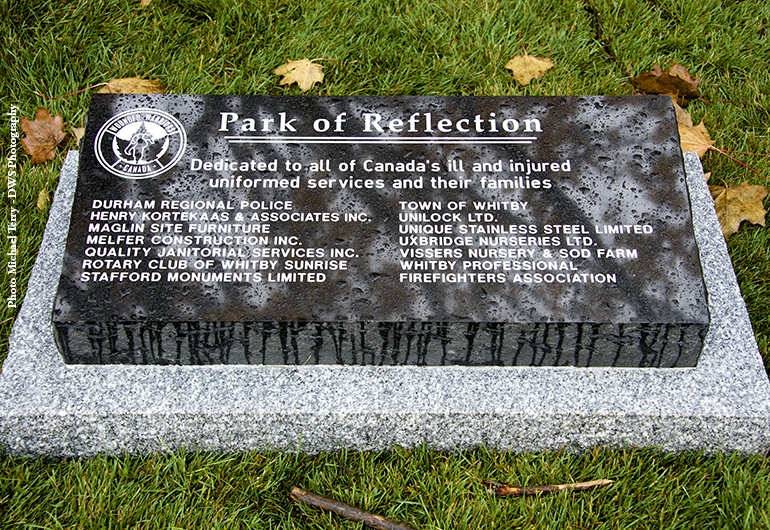 Park of Reflection Opening - Whitby