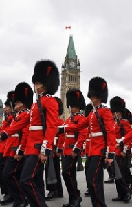 The Ceremonial Guard performed the first Changing of the Guard ceremony for the 2015 season earlier this week on Parliament Hill.