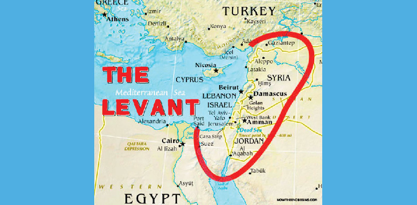 The Levant Map-01