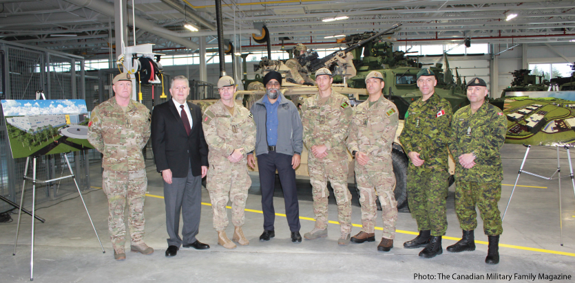 Minister of Defence cuts the ribbon for new TAPV facility