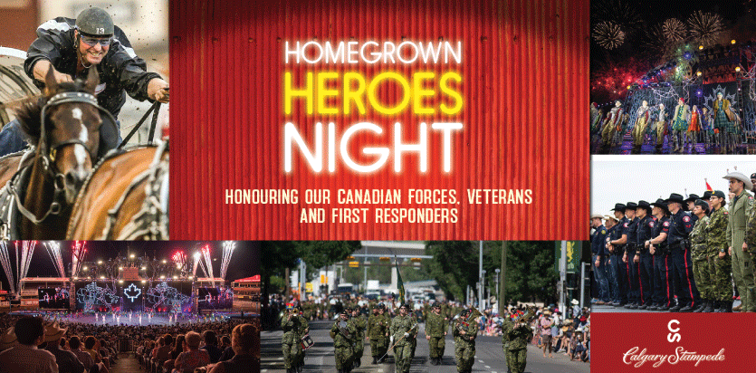 Homegrown Heroes Night Is Back At The Calgary Stampede