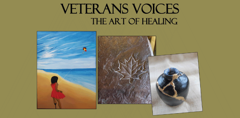 Veteran Voices The Art Of Healing Canadian Military Family Magazine